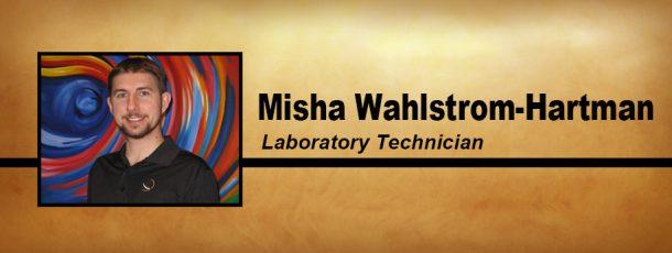 Meet Misha Wahlstrom-Hartman