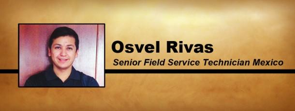 Welcome Osvel Rivas!