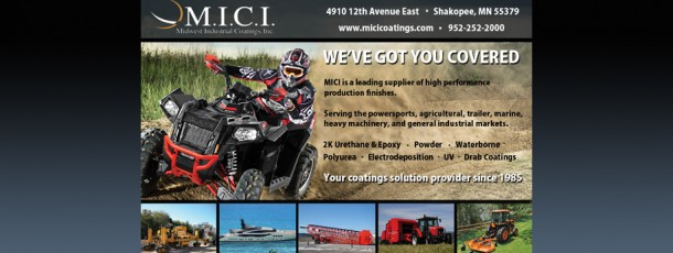 New Ad for Chemical Coaters Newsletter