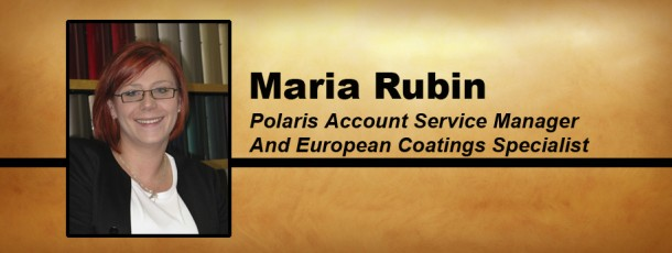 Welcome Maria Rubin!