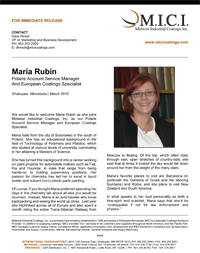 Thumbnail- Press Release Maria Rubin
