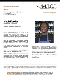 Thumbnail- Press Release Mitch Kardor
