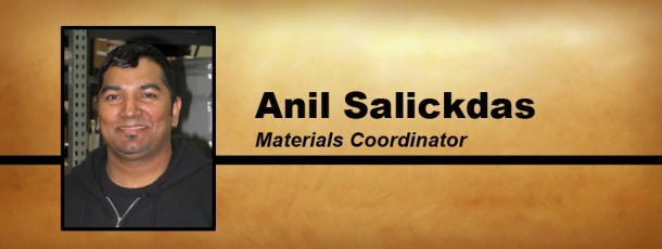 Welcome Anil Salickdas to the MICI Team!