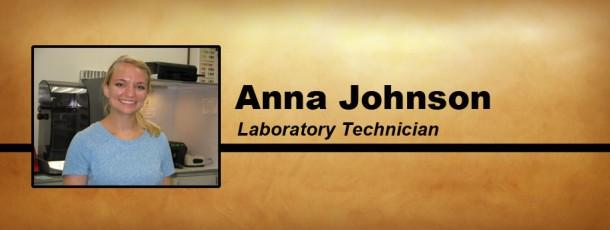 Meet Our Newest Team Member, Anna Johnson!