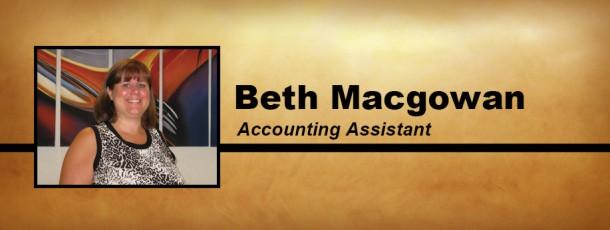 Welcome Beth Macgowan