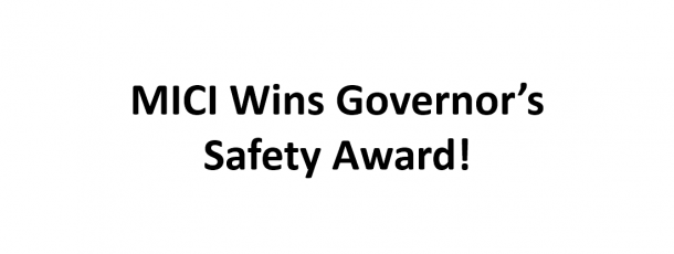 Midwest Industrial Coatings wins Governor's Safety Award